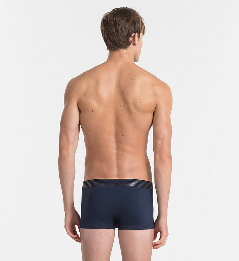 CALVINKLEIN Low Rise Trunks - Iron Strength - CASTRO BLUE - CALVIN KLEIN UNDERWEAR - detail image 1