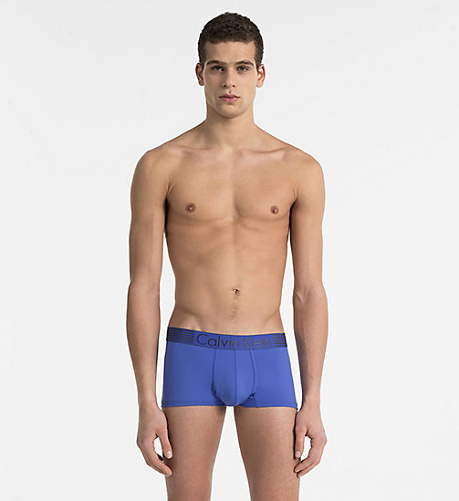 CALVINKLEIN Low Rise Trunks - Iron Strength - AMPARO BLUE - CALVIN KLEIN NEW ARRIVALS - main image