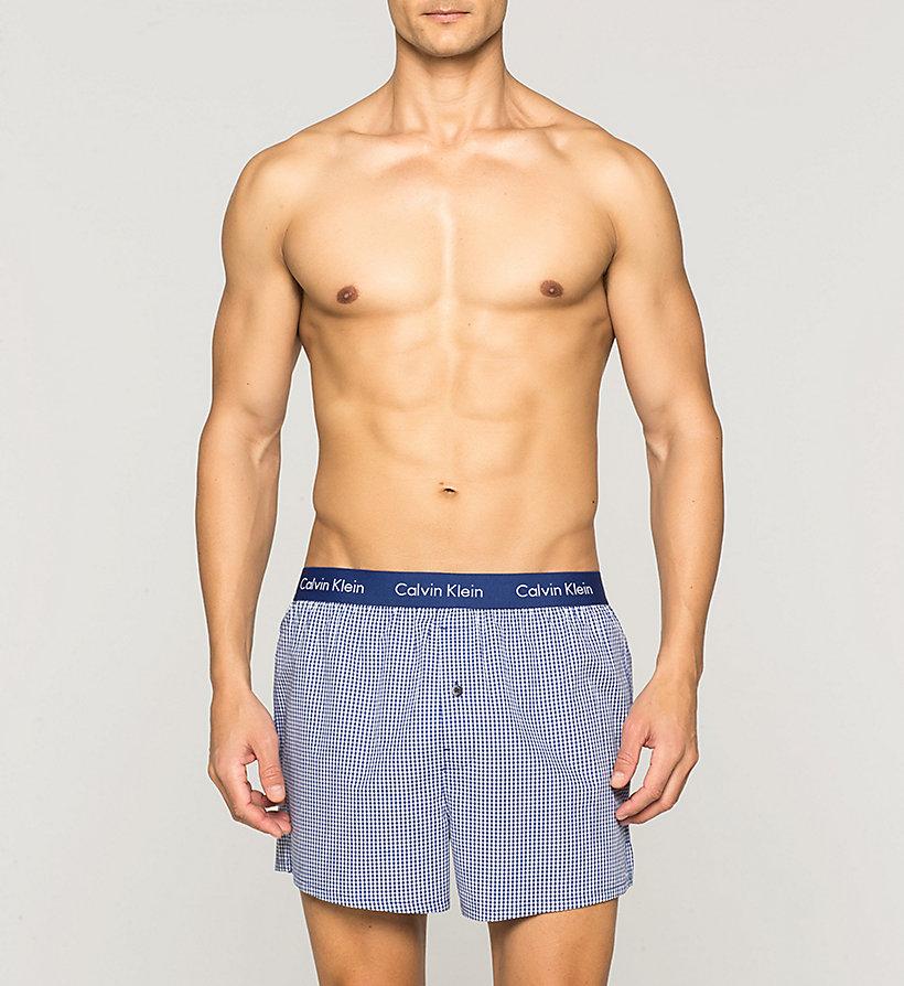 2 pack slim fit boxers calvinkleinuk. Black Bedroom Furniture Sets. Home Design Ideas