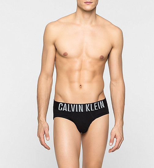 CALVINKLEIN Hip Briefs - Intense Power - BLACK - CALVIN KLEIN UNDERWEAR - main image