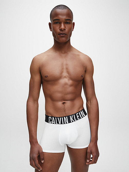 CALVINKLEIN Trunks - Intense Power - WHITE - CALVIN KLEIN NEW ARRIVALS - detail image 1