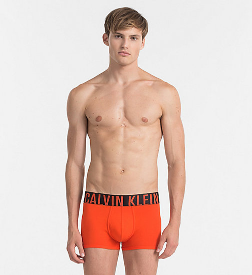 CALVINKLEIN Trunks - Intense Power - ORIOLE - CALVIN KLEIN NEW ARRIVALS - main image