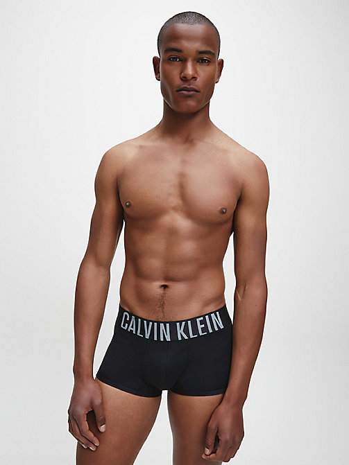 CALVINKLEIN Low Rise Trunks - Intense Power - BLACK - CALVIN KLEIN TRUNKS - detail image 1