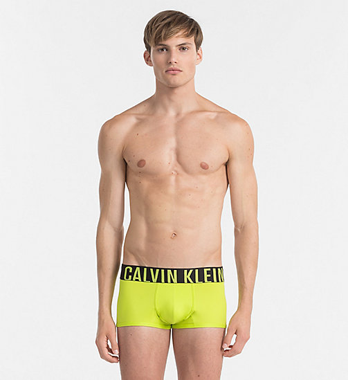 CALVIN KLEIN Low Rise Trunks - Intense Power - LIME PUNCH -  UNDERWEAR - main image
