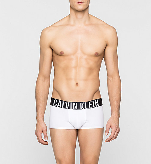 CALVINKLEIN Low Rise Trunks - Intense Power - WHITE - CALVIN KLEIN UNDERWEAR - main image