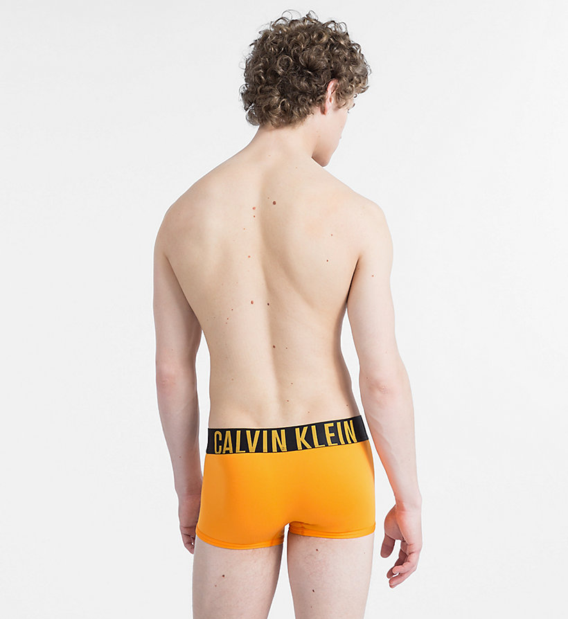 CALVINKLEIN Low Rise Trunks - Intense Power - LIME PUNCH - CALVIN KLEIN UNDERWEAR - detail image 1