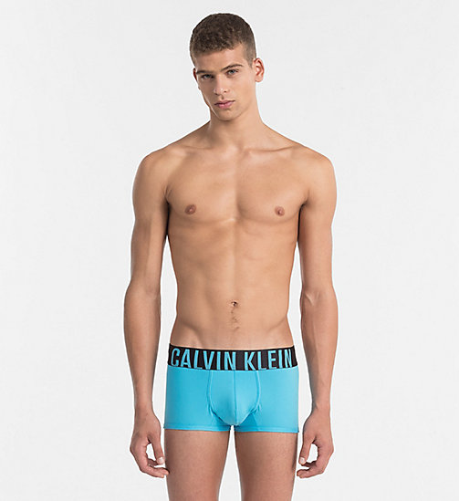 CALVINKLEIN Low Rise Trunks - Intense Power - SALTWATER - CALVIN KLEIN Bright Colours - main image
