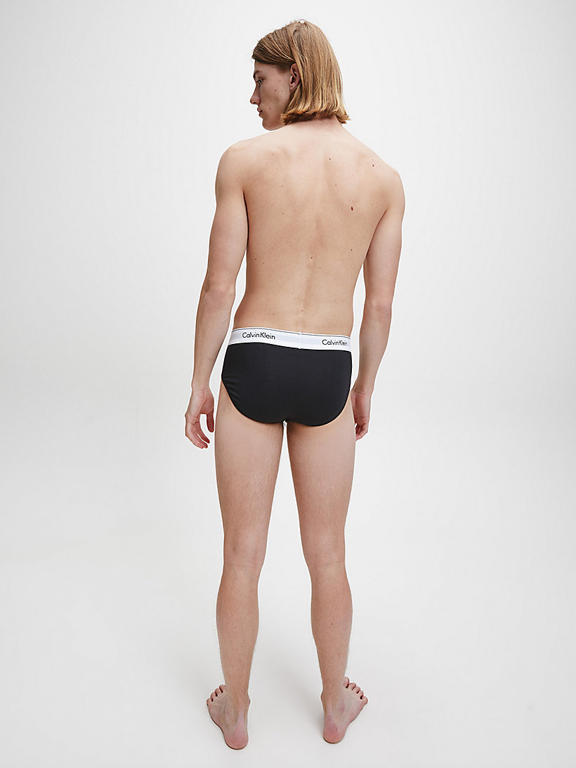 CALVINKLEIN 2 Pack Hip Briefs - Modern Cotton - DARK NIGHT/OATMEAL HEATHER - CALVIN KLEIN UNDERWEAR - detail image 2