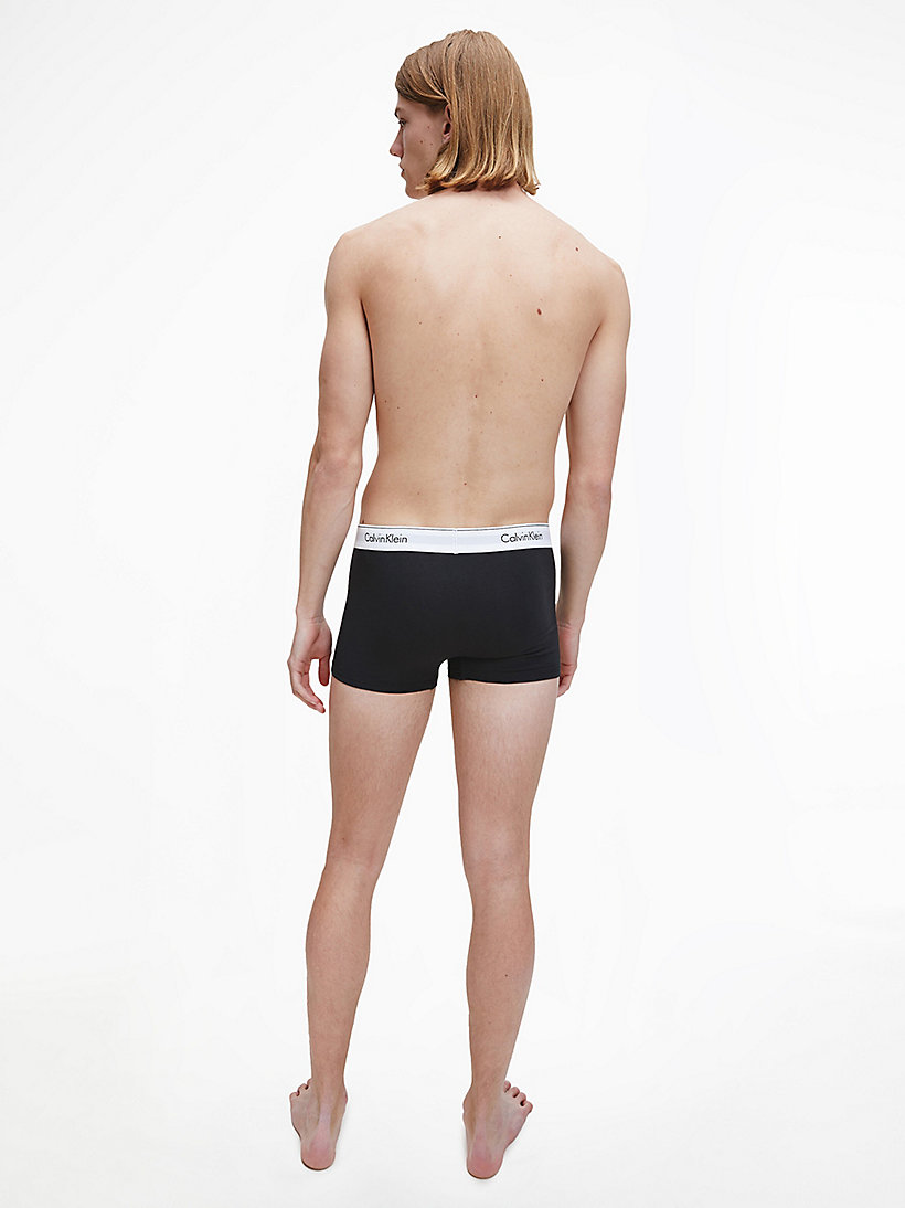 CALVINKLEIN 2 Pack Trunks - Modern Cotton - DARK NIGHT/OATMEAL HEATHER - CALVIN KLEIN UNDERWEAR - detail image 2