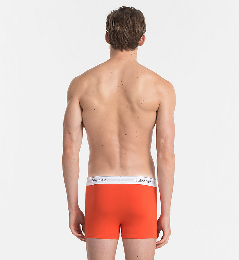 CALVINKLEIN 2 Pack Trunks - Modern Cotton - SPELLBOUND / BLACK - CALVIN KLEIN UNDERWEAR - detail image 2