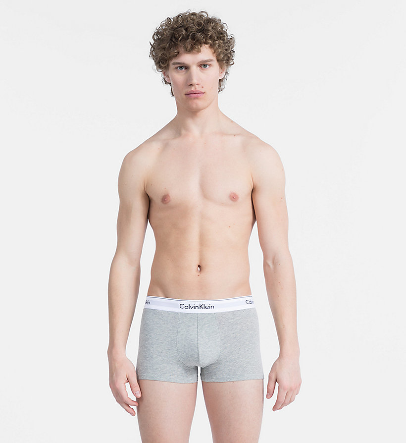 CALVINKLEIN 2 Pack Trunks - Modern Cotton - WHITE - CALVIN KLEIN UNDERWEAR - detail image 2