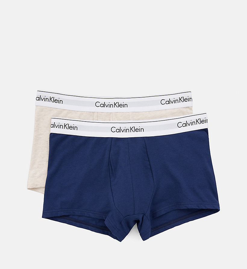 CALVINKLEIN 2er-Pack Shorts - Modern Cotton - RALIEGH/GREY HEATHER - CALVIN KLEIN Unterwäsche - main image 3