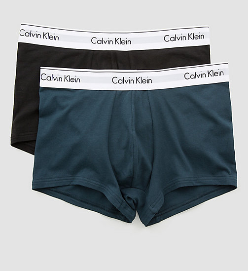 CALVINKLEIN 2 Pack Trunks - Modern Cotton - SPELLBOUND / BLACK - CALVIN KLEIN TRUNKS - detail image 1