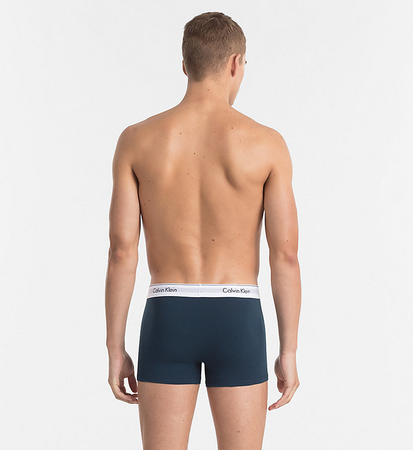 CALVINKLEIN 2 Pack Trunks - Modern Cotton - AFFECTION/ ASHFORD GREY - CALVIN KLEIN UNDERWEAR - detail image 2