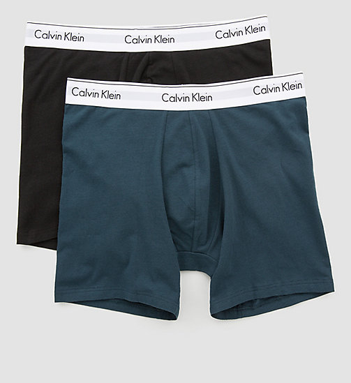 CALVINKLEIN 2 Pack Trunks - Modern Cotton - SPELLBOUND / BLACK - CALVIN KLEIN UNDERWEAR - detail image 1