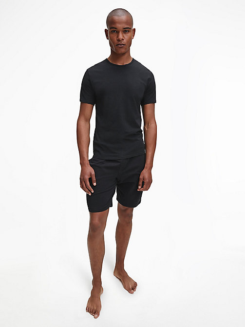 CALVIN KLEIN 2 Pack T-shirts - Modern Cotton - BLACK - CALVIN KLEIN MULTIPACKS - detail image 1