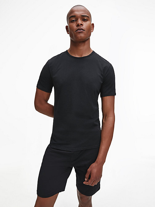 CALVINKLEIN 2 Pack T-shirts - Modern Cotton - BLACK - CALVIN KLEIN MULTIPACKS - main image