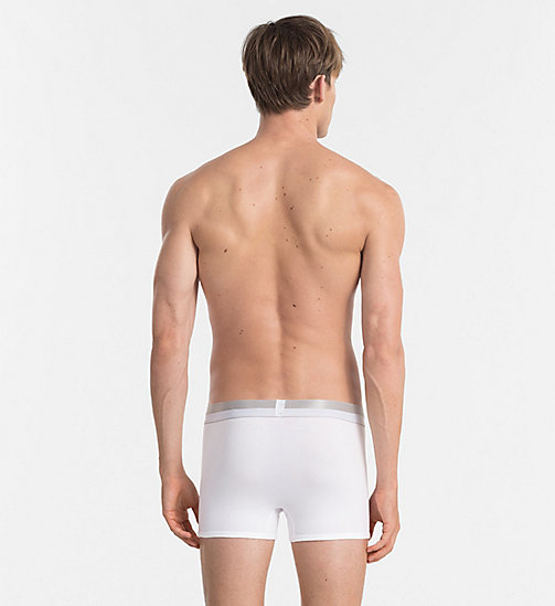 CALVINKLEIN Trunks - Magnetic - WHITE - CALVIN KLEIN UNDERWEAR - detail image 1