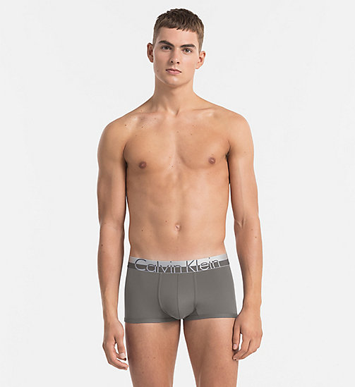 CALVINKLEIN Low Rise Trunks - Magnetic - GREY SKY - CALVIN KLEIN UNDERWEAR - main image