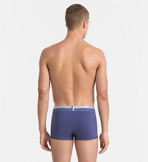 CALVINKLEIN Low Rise Trunks - Magnetic - PLACID - CALVIN KLEIN UNDERWEAR - detail image 1