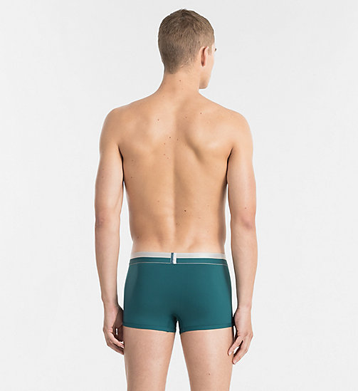 CALVINKLEIN Low Rise Trunks - Magnetic - DEEP TEAL - CALVIN KLEIN UNDERWEAR - detail image 1