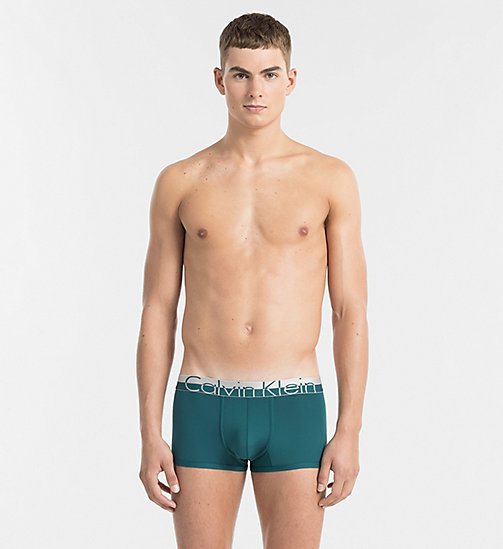 CALVINKLEIN Low Rise Trunks - Magnetic - DEEP TEAL - CALVIN KLEIN UNDERWEAR - main image