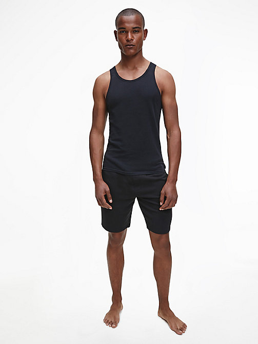 CALVIN KLEIN 2 Pack Tank Tops - Modern Cotton - BLACK - CALVIN KLEIN MULTIPACKS - detail image 1