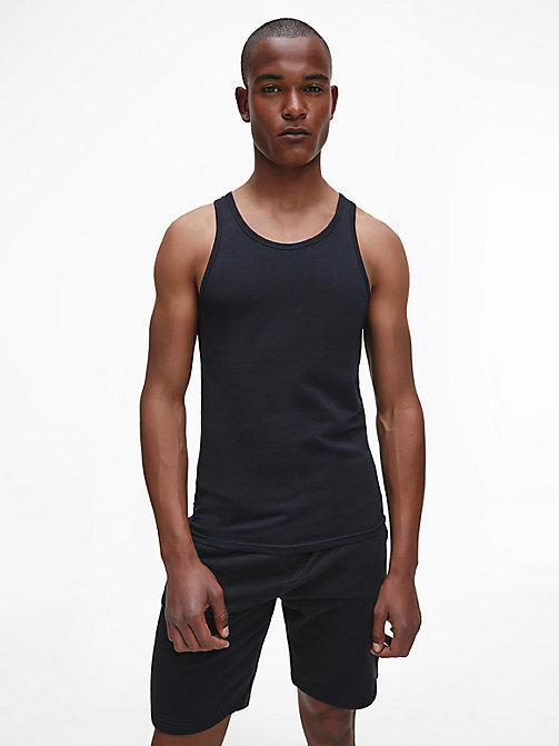 CALVINKLEIN 2er-Pack Tanktops - Modern Cotton - BLACK - CALVIN KLEIN PACKS - main image