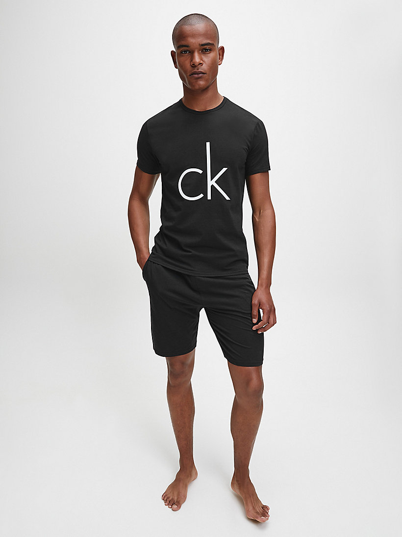CALVINKLEIN T-shirt - CK Sleep - GREY HEATHER W/LOGO - CALVIN KLEIN UNDERWEAR - detail image 1