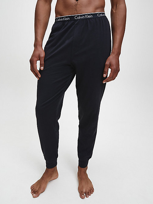 CALVIN KLEIN PJ Pants - CK Sleep - BLACK - CALVIN KLEIN PYJAMA BOTTOMS - main image