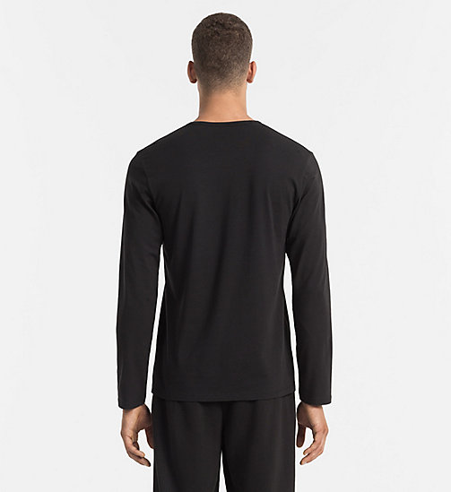 CALVINKLEIN T-shirt - CK Sleep - BLACK - CALVIN KLEIN NIGHTWEAR & LOUNGEWEAR - detail image 1