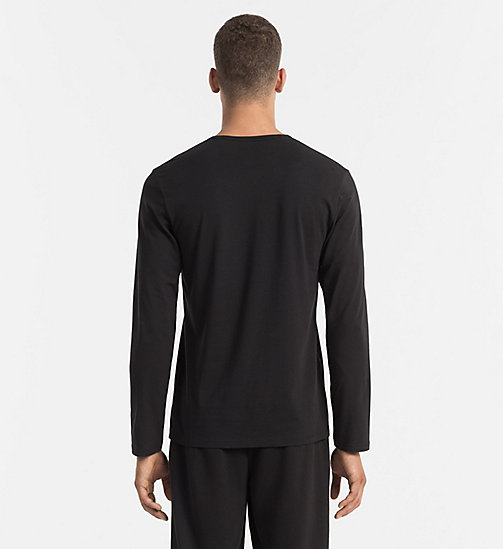 CALVIN KLEIN T-shirt - CK Sleep - BLACK - CALVIN KLEIN NIGHTWEAR - detail image 1