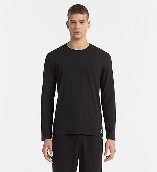 CALVINKLEIN T-shirt - CK Sleep - BLACK - CALVIN KLEIN NIGHTWEAR - main image