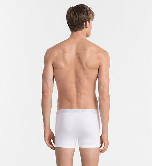 CALVINKLEIN Trunks - Liquid Stretch - WHITE - CALVIN KLEIN TRUNKS - detail image 1