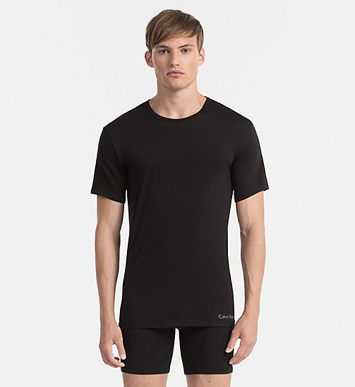 CALVINKLEIN T-shirt - Liquid Stretch - BLACK - CALVIN KLEIN NIGHTWEAR - main image