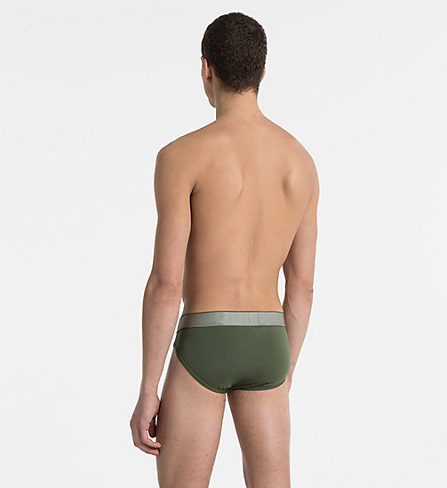 CALVINKLEIN Hip Briefs - Customized Stretch - HUNTSMAN - CALVIN KLEIN UNDERWEAR - detail image 1