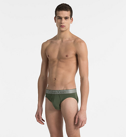 CALVINKLEIN Hip Briefs - Customized Stretch - HUNTSMAN - CALVIN KLEIN UNDERWEAR - main image