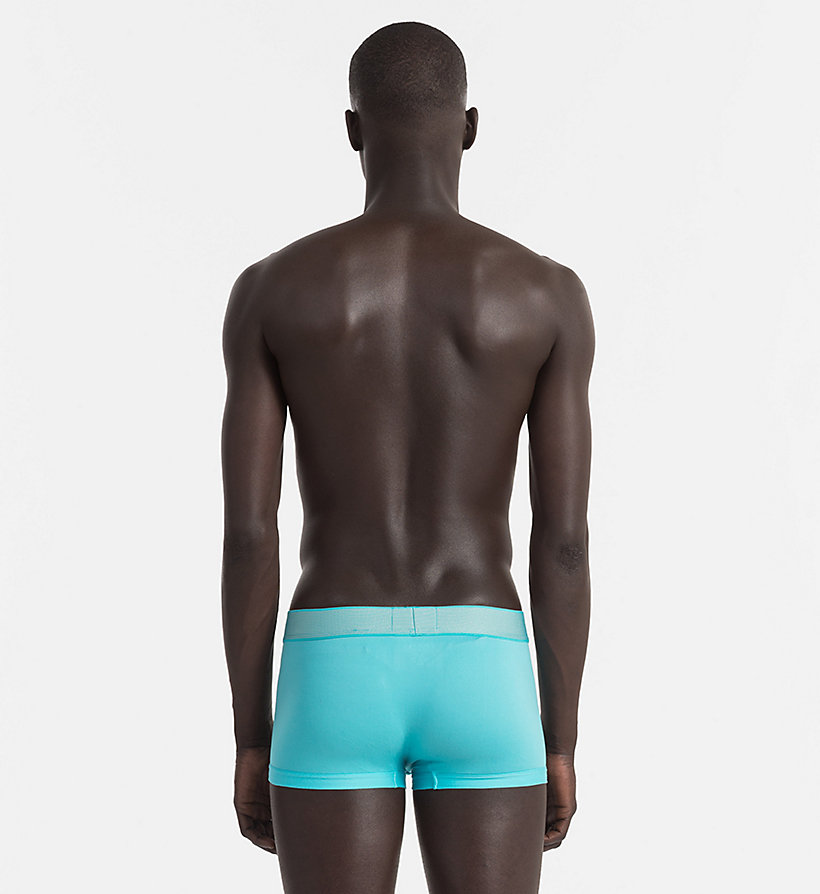CALVINKLEIN Low Rise Trunks - Customized Stretch - MARTINI OLIVE - CALVIN KLEIN UNDERWEAR - detail image 1