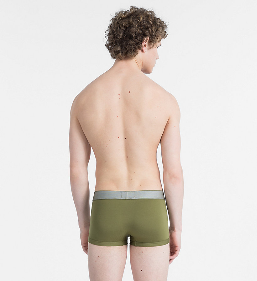 CALVIN KLEIN Low Rise Trunks - Customized Stretch - SWELL - CALVIN KLEIN UNDERWEAR - detail image 1