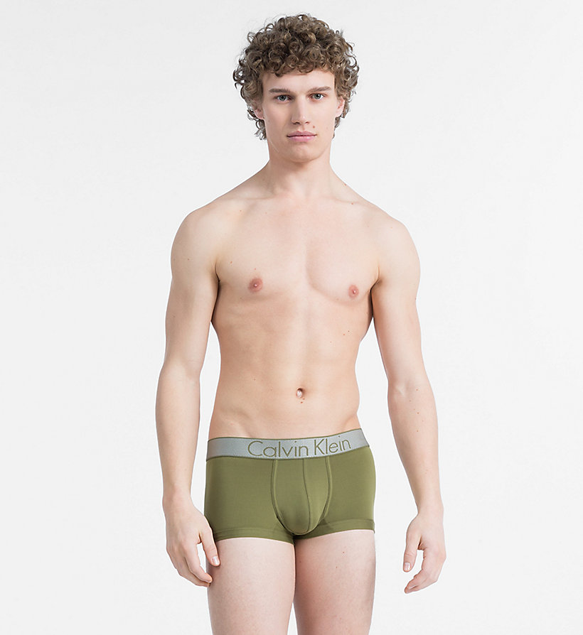 CALVIN KLEIN Low Rise Trunks - Customized Stretch - SWELL - CALVIN KLEIN UNDERWEAR - main image