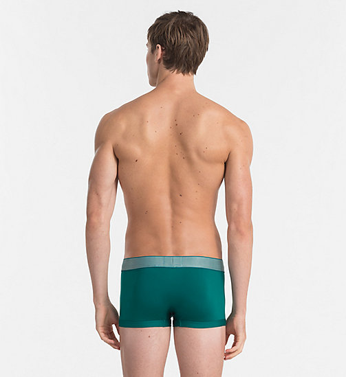 CALVINKLEIN Low Rise Trunks - Customized Stretch - SEA GREEN -  Bright Colours - detail image 1
