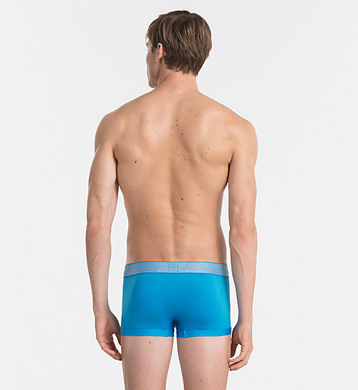 CALVINKLEIN Bóxer de tiro bajo - Customized Stretch - DRESDEN BLUE - CALVIN KLEIN Bright Colours - imagen detallada 1