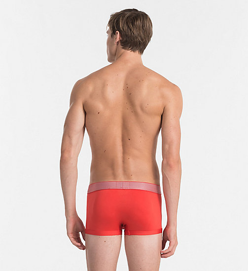 CALVINKLEIN Low Rise Trunks - Customized Stretch - ROBIN RED - CALVIN KLEIN NEW IN - detail image 1