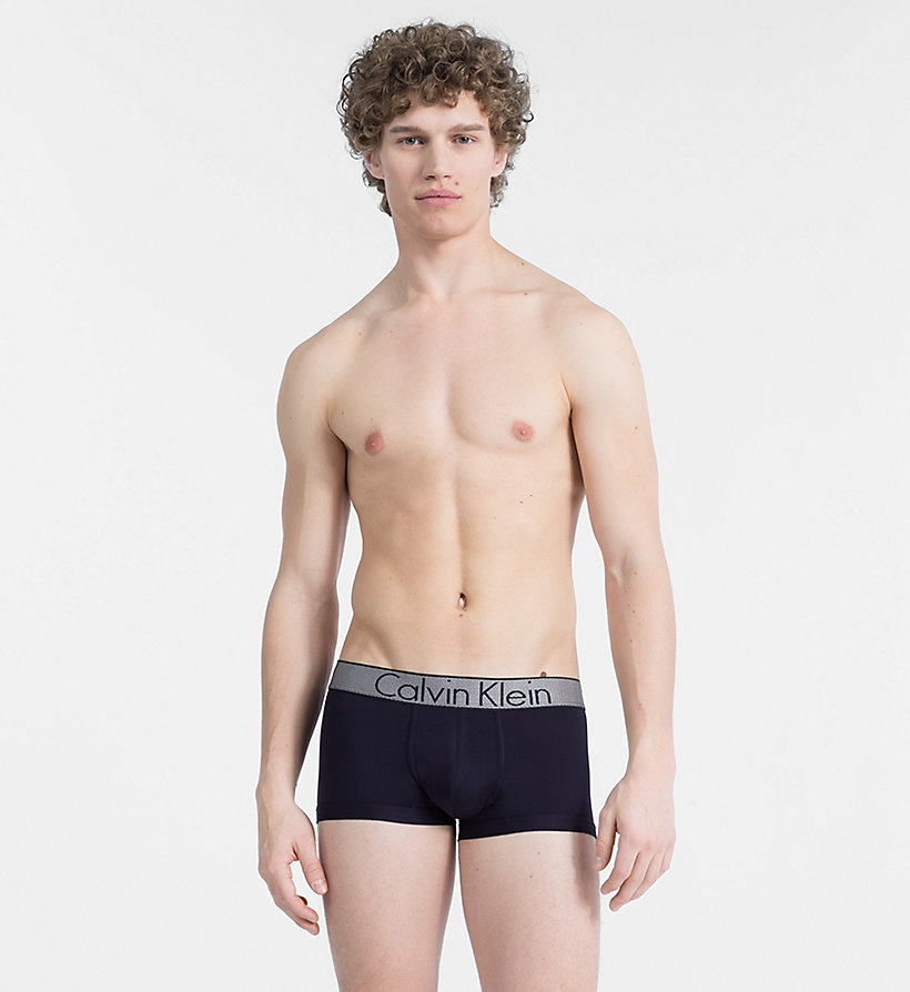CALVIN KLEIN Low Rise Trunks - Customized Stretch - BIKING RED - CALVIN KLEIN UNDERWEAR - main image