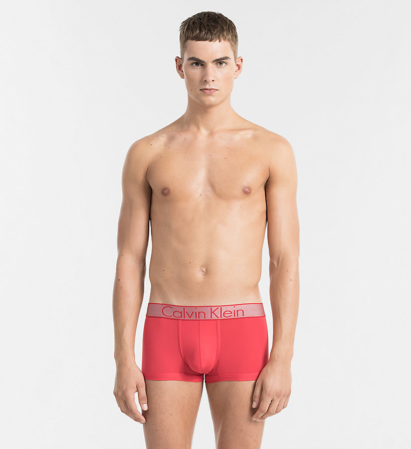 CALVINKLEIN Low Rise Trunks - Customized Stretch - SWELL - CALVIN KLEIN UNDERWEAR - main image