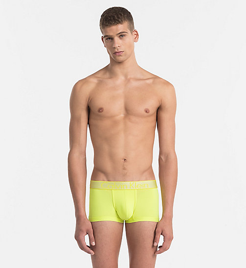 CALVINKLEIN Low Rise Trunks - Customized Stretch - SUNGLOW - CALVIN KLEIN NEW ARRIVALS - main image
