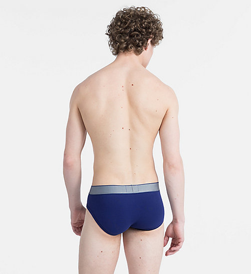 CALVINKLEIN Hip Briefs - Customized Stretch - DARK NIGHT - CALVIN KLEIN NEW IN - detail image 1