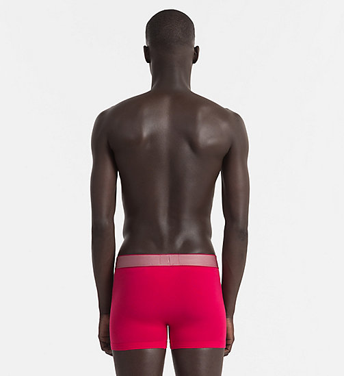 CALVINKLEIN Trunks - Customized Stretch - AMARANTH - CALVIN KLEIN Bright Colours - detail image 1