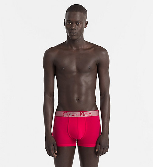 CALVINKLEIN Trunks - Customized Stretch - AMARANTH - CALVIN KLEIN Bright Colours - main image