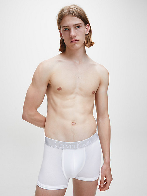 CALVINKLEIN Trunks - Customized Stretch - WHITE - CALVIN KLEIN TRUNKS - detail image 1